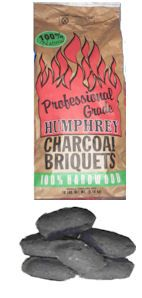 18 lb Bag 100% Natural Hardwood Briquets